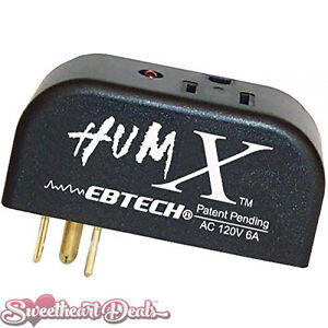 Ebtech Hum X - Plug-Style AC Voltage Ground Loop Hum Eliminator
