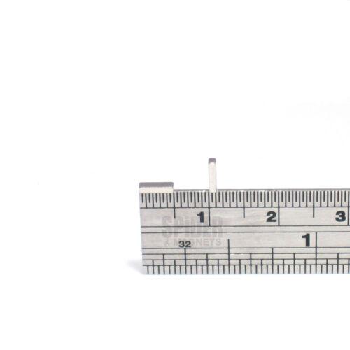 Tiny neodymium block magnets 5mm x 1.5mm x 1mm strong thin neo magnet 5x1.5x1 mm