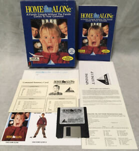 """RARE 1991 """"Home Alone"""" IBM PC Game - 3.5"""" Disk Only, No 5.25"""""""
