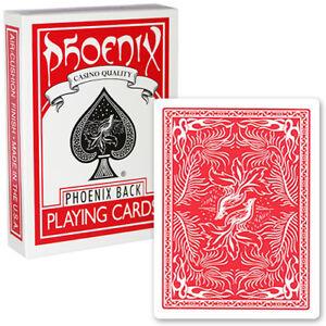 1-mazzo-Carte-Phoenix-colore-Rosso
