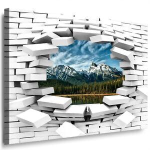 Wandbild Geld • 100 Dollar als Modernes XXL Leinwand • Bild für Büro Wohnzimmer