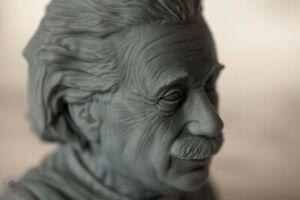 Pronamic 3D Printed Albert Einstein Bust, Figurine, Home Decorating, Sculpture