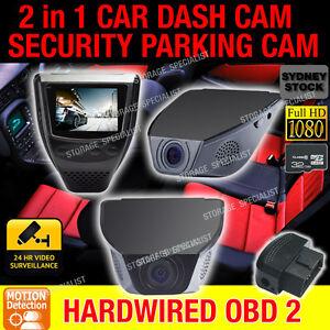 Dash Camera 32GB Time Lapse Car Cam Security Parking Mode Motion Activated Crash
