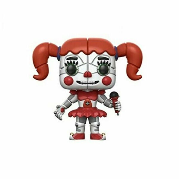 3.75... Funko 13730 Pop Vinyl Games FNAF Sister Location Funtime Freddy Figure