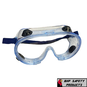 Safety Goggles Over Glasses Lab Work Eye Protective Eyewear Clear Lens 1/Pair