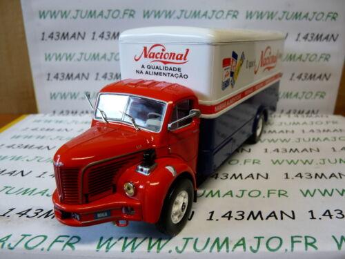 D CAMIONS 1//43 altaya IXO BERLIET GLR 8R 1956 Nacional portugal