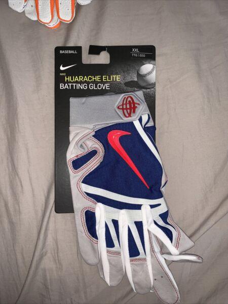 Nike Huarache Elite Player Issued Batting Gloves #66 Sz XXL ...