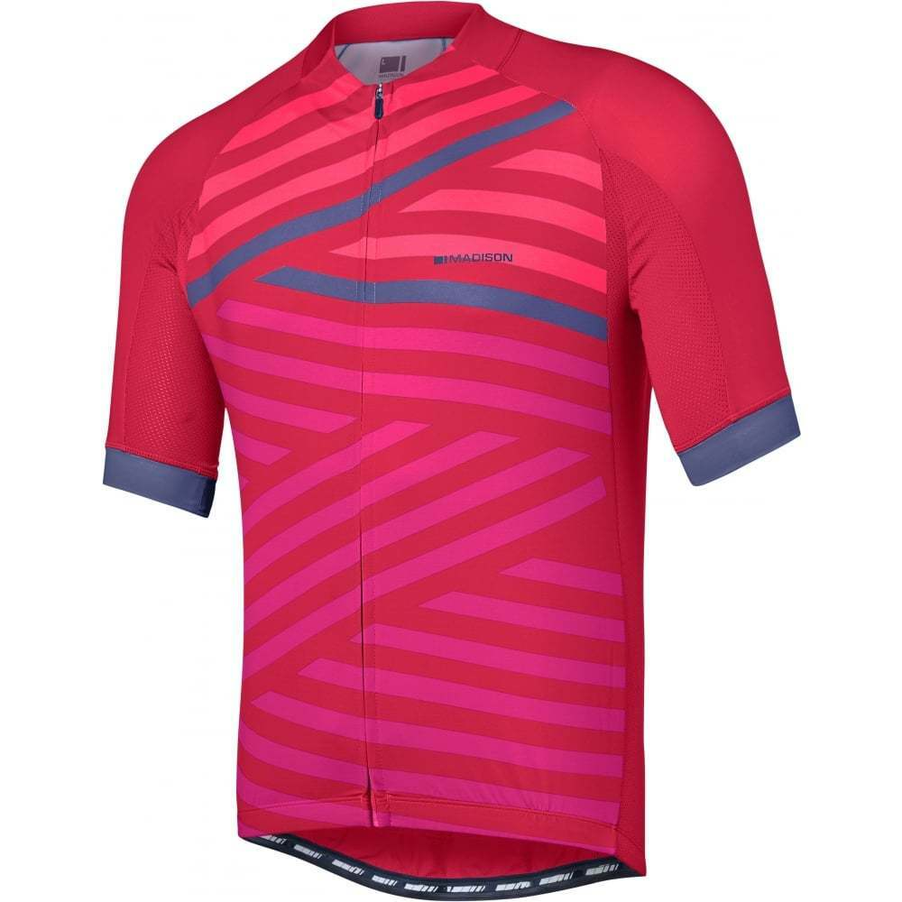 Madison Sportive Men's Short Sleeve Cycling Cycle Bike Jersey