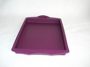 Tupperware Silikonform Backform Kuchen Backen Silikon Blechkuchen 1l