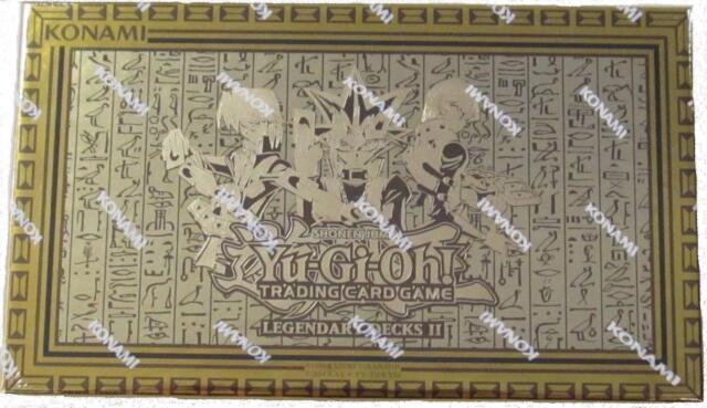 Legendary Decks II 2 Yu-Gi-Oh God Cards Exodia Yugi Kaiba Joey Mystery Box