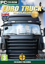 Euro Truck Simulator Gold PC CD simulation UK routes cities England drivers game