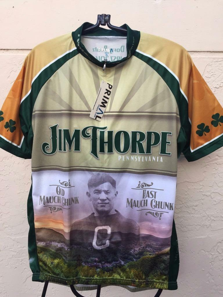 PRIMAL  JIM THOPRE MENS CYCLING JERSEY MOLLY  MAQUIRES  PUB NWT SZ XL  global distribution