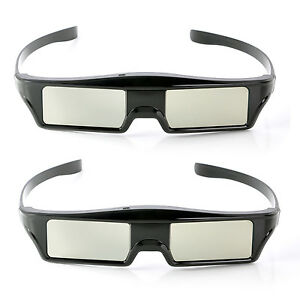 USA-2x-Active-3D-Glasses-Replacement-for-Epson-Projector-ELPGS03-2040-3020-5040