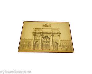 PARIS parigi ARC du CARROUSEL photo albuminé albumen foto ca.1889 - Italia - PARIS parigi ARC du CARROUSEL photo albuminé albumen foto ca.1889 - Italia