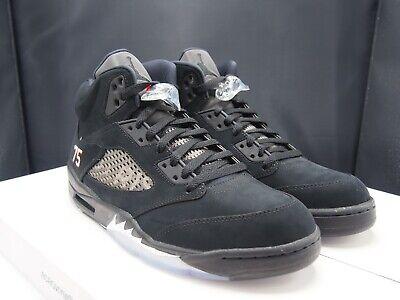Men's Saint Retro Ds Paris Psg Germain Air V X Nike 5 10 Size Black Jordan IE29DHW