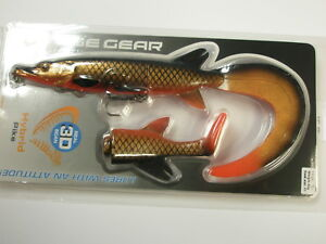Savage-Gear-3D-Hybrid-Pike-Lure-Slow-Sink-17cm-45g-RED-COPPER-Fishing
