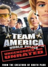 Team America World Police Movie Unrated Uncensored Edition Widescreen DVD