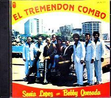 """Sonia Lopez con Bobby Quesada - """" El tremendo combo"""" -CD (LEER ANTES DE COMPRAR)"""