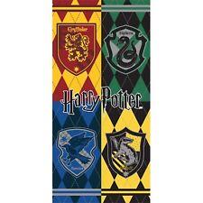 "New Harry Potter Hogwarts Crest Bath Towel 27/"" x 50/"""