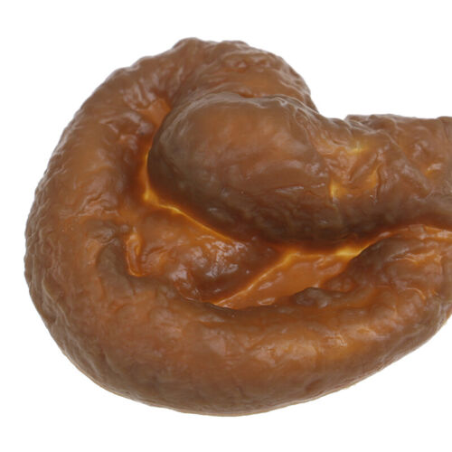 1Pc Realistic Plastic Novelty Joke Toy Fake Human Poop Pooper Trick Funny/_fqP UR