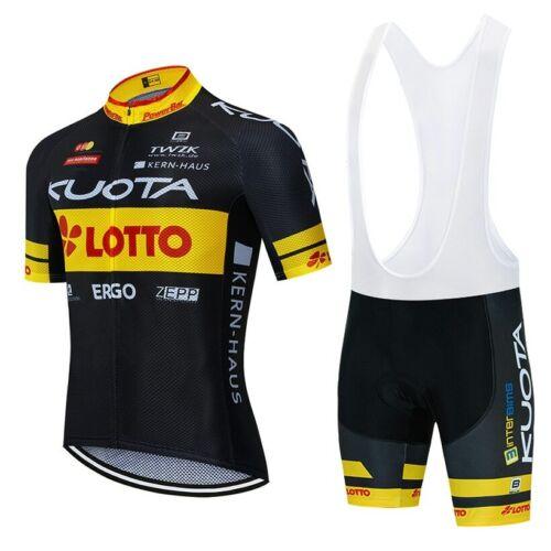2020 New cycling TEAM jersey Shorts Set bike bicycle Ropa Ciclismo mens summer