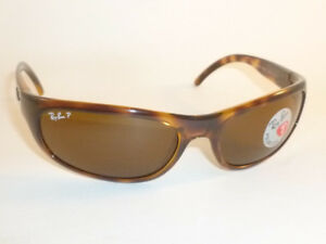 New RAY BAN Sunglasses Tortoise Frame RB 4033 642 47 Polarized Brown ... 2bfb5ba7f3a08