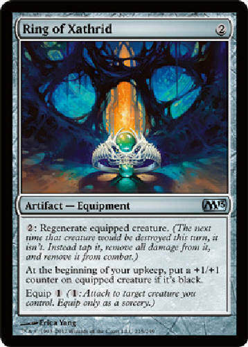 RING OF XATHRID X4 4 4X Magic 2013 MTG Magic the Gathering Cards DJMagic