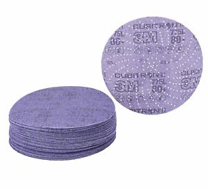 """152mm Hookit Disc 775 L 6/"""" 80 Clean-Sanding Film Sandpaper 3 M Cubitron"""