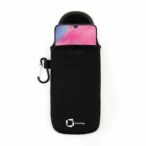 Veritable-Invencase-Noir-Neoprene-Etui-Sac-pour-Samsung-Galaxy-M30-2019