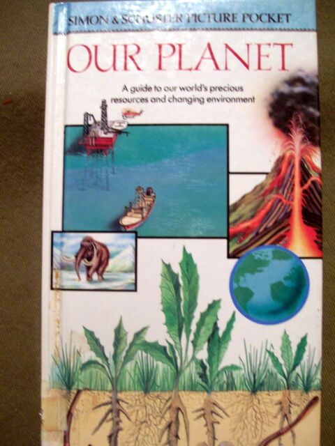 Simon & Schuster Picture Pockets: Our Planet by Lionel Bender (1992, Hardcover)