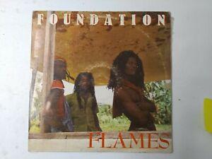 Foundation-Flames-Vinyl-LP-1988-ROOTS-REGGAE