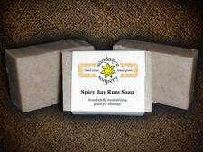 Homemade Soap SPICY BAY RUM *Sundance Soapery*Handmade All Natural Soap