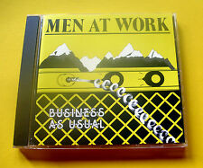 """CD """" MEN AT WORK - BUSINESS AS USUAL """" 10 SONGS (DOWN UNDER)"""