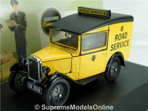 AUSTIN SEVEN 7 RN Van modèle de 1//43RD AA Taille Classique Service Routier type Y0675J ^ ^
