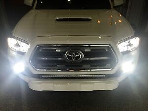 2016 2017 tacoma toyota led headlight foglight kit ebay. Black Bedroom Furniture Sets. Home Design Ideas