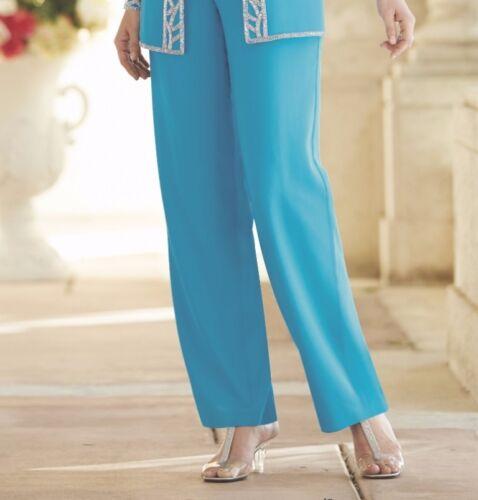Mother Bride Groom Women/'s Wedding Tuxedo 3PC pant suit formal plus XL 1X 2X 3X