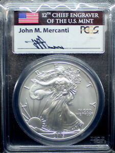 2015-W-SILVER-EAGLE-PCGS-SP70-MERCANTI-FIRST-DAY-OF-ISSUE-PHILADELPHIA