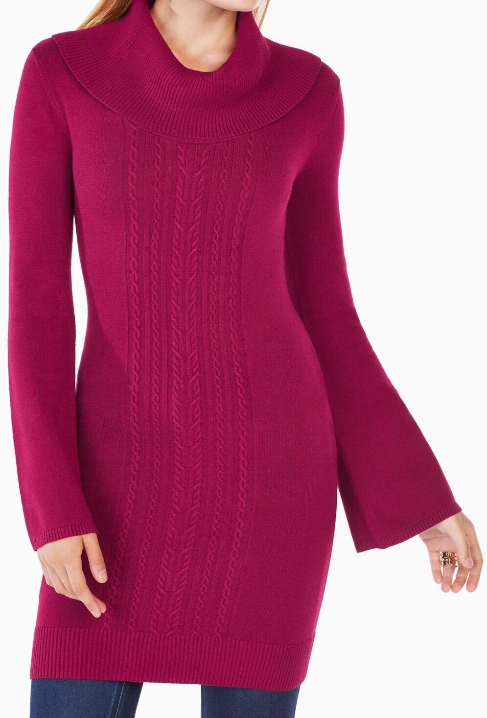 New with tag  198 BCBG Max Max Max Azria Layla Tunic Sweater B2350 Sweater Sz S d36c1f