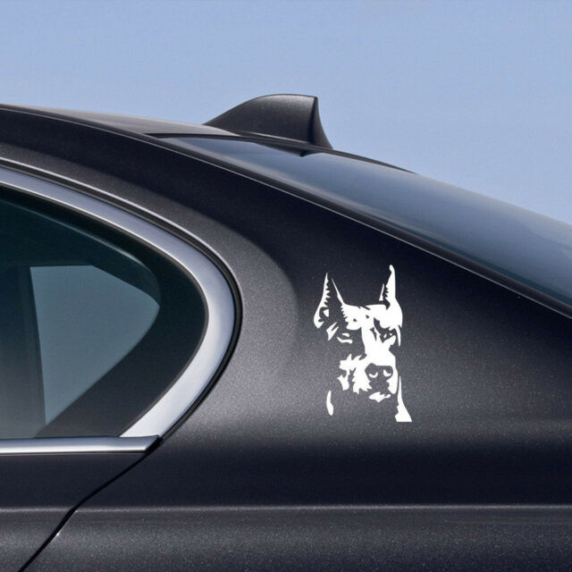 Decal Guard Ward Auto Hound Doberman Lover Dog To Off Evil Pet Dog Sticker Cheap
