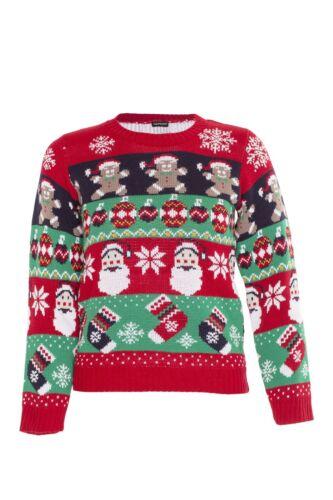 Kids Boys Girls 3D Christmas Jumper Xmas Sweatshirt Novelty Knitted Pullover Top