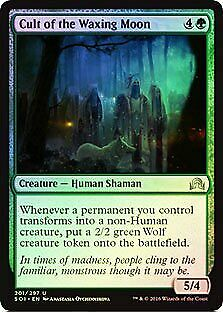 Cult of the Waxing Moon FOIL Shadows over Innistrad PLD CARD ABUGames