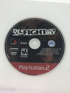Def Jam: Fight for NY Sony PlayStation 2 PS2 - Disc Only Greatest Hits - Tested