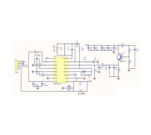 RCWL-0516 Microwave Radar Sensor Module Human Body Induction Switch Module NEW L