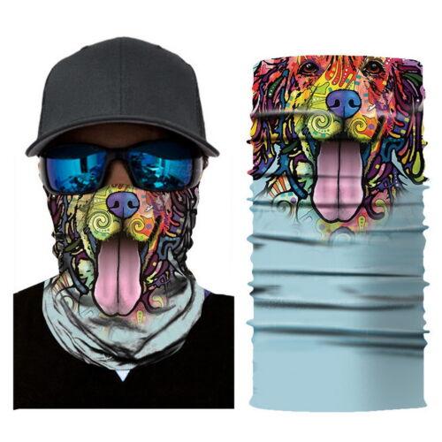 Balaclava Face Mask Cover Scarf Tactical Neck Gaiter Tube Biker Cycling Headband