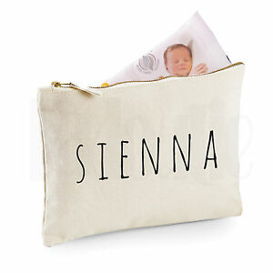 c3e51f0ecf797 Personalised Baby Nappy Pouch/ Mini Changing Bag- GIFT FOR NEW BABY ...