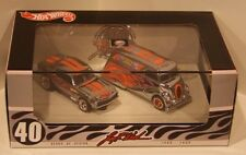 Hot Wheels 2009 Japan Convention '67 Camaro/Deco Delivery Chrome Set #646/1500