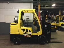2016 Hyster 8000 Lb Forklift With Side Shift And 2 Stage Mast