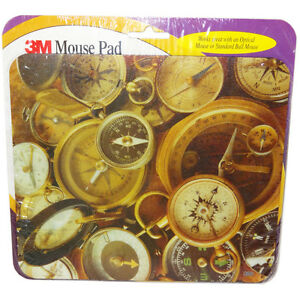 3M Compass Themed Optical Mouse Pad 51135809112