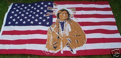 American Native USA Flag. Red Indians & Cowboys Line/Barn Dance Country Music bn