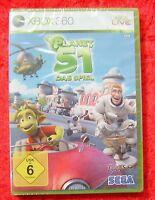 Planet 51 Das Spiel, Xbox 360, Neu, Deutsche Version
